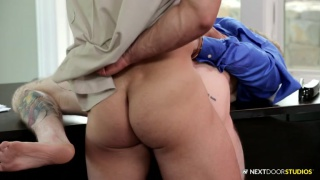 Office Surprise with Arad and Harley Hardman