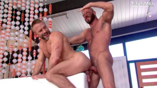 double exposure with Hunter Marx with Dirk Caber