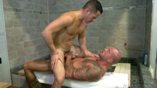 Shower Show-Off with Valentin Petrov and Sean Duran