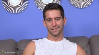 exotic dancer Sean Peyton does his first JO video