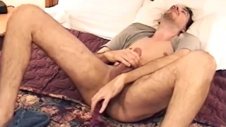 hung stud uses anal beads for first time