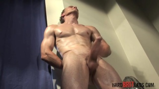 Super fit straight lad Stefan Stewart in JO Solo