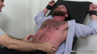 Muscle Bear Derek Parker's Tickle Torture