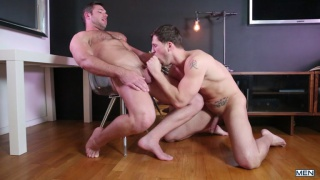 tongue punch with Alex Mecum and Roman Todd
