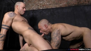 Sexy Max duran pleases his oversexed papi