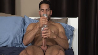 ricky decker plays with a fleshjack