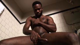 Bamm Bamm strokes his 9.5-inch dick