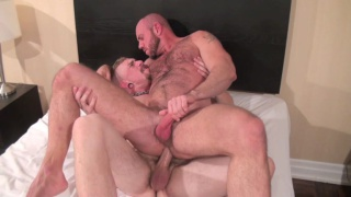 matt stevens rides jeff kendall's raw dick