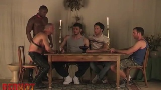 5 guys take part in bizarre sex rituals