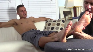 Tommy makes Rich worship his bare feet