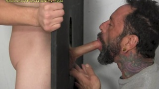 Donny forza at a glory hole