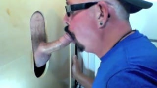 Gloryhole Feeding Time