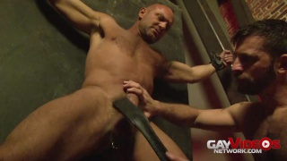 Morgan Black bare fucks Chad Brock