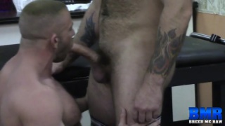Luke Harrington bare fucks Shay Michaels