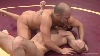 naked wrestlrs Eli Hunter and Lance Hart