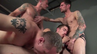 Gang Fucked 4 with Owen Hawk, Randy Harden and more
