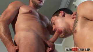 hans berlin gets his meat serviced by jack green