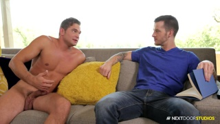 Naked Housekeeper with luke milan and quentin gainz