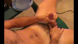 blond guy Scott blows his wad on a plate
