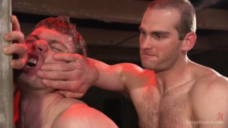Naked wrestlers Brandon Blake and Jonah Marx