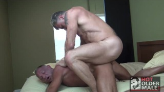 Peter Fulton and Jon Piston fuck around in bed