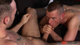 sam syron Gets his huge uncut schlong sucked