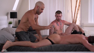 So much cock with Austin Wilde, Brendan Phillips and Buck Richards