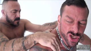 Alessio Romero bare fucks Hugh Hunter