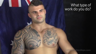 new zealand hunk Cooper gets blowjob