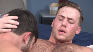 Tanner bottoms bareback for Cory