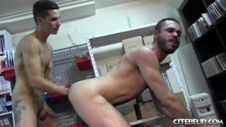 Fucked and fisted by Nathan Hope at citebeur