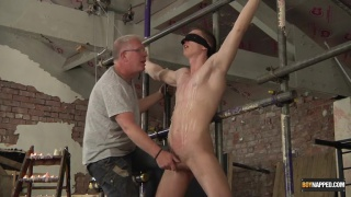 Billy Rock gets tied up and used by Sebastian Kane