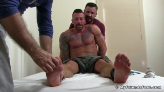 Hugh Hunter Bound & Tickled Naked