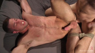 Christian Wilde trains Alex Mecum in his dungeon