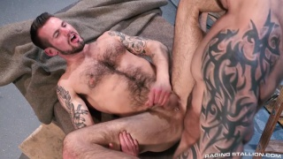 Chris Harder gets fucked by Damien Michaels