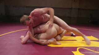 naked wrestlers: Jonah Marx vs Tyler Rush