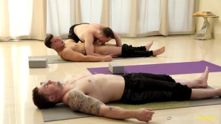 Yoga Stretched with Brandon Moore and Jordan Boss