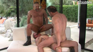 package with dirk caber, hunter marx & Max Sargent