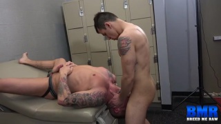 Tyler Griz bottoms raw for Diego Tovar
