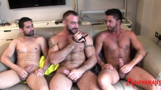 threeway with Spencer Reed, Dominic Pacifico and Billy Baval