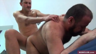 Teo Mad fucks hairy bear Marko Bulto