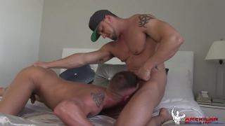 joey d pounds rex cameron in bed