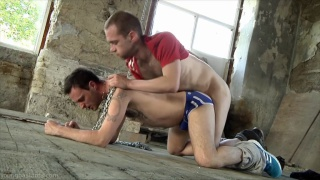 Extremely Nasty Bareback Session with Plenty of Spit and Sperm