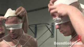 bound, blindfolded and used