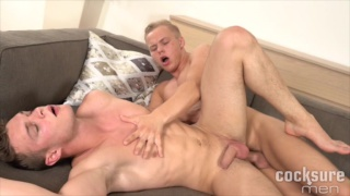 Peter Comely and Cody Donal Bareback