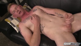 ginger stud Palmer makes his first porno