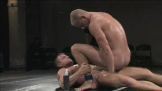 wrestling for sexual submission