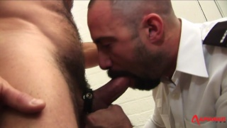 Butch Hairy Ball Busters with carlo cox and butch grand