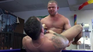 hot game of billiards - loser gets fucked raw