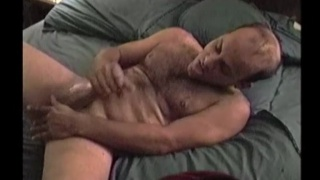 furry guy Ira jacks his cock